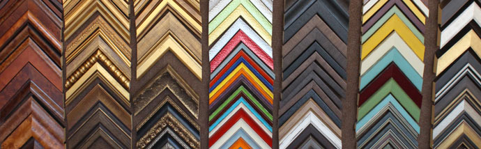an assortment of frames
